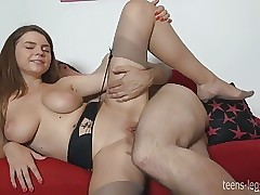 Pantyhose sexy video's -